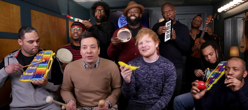 Watch Ed Sheeran Perform 'Shape Of You' On Classroom Instruments | Instruments