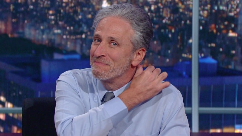 Jon Stewart Makes His Comeback On The Late Show | Jon Stewart