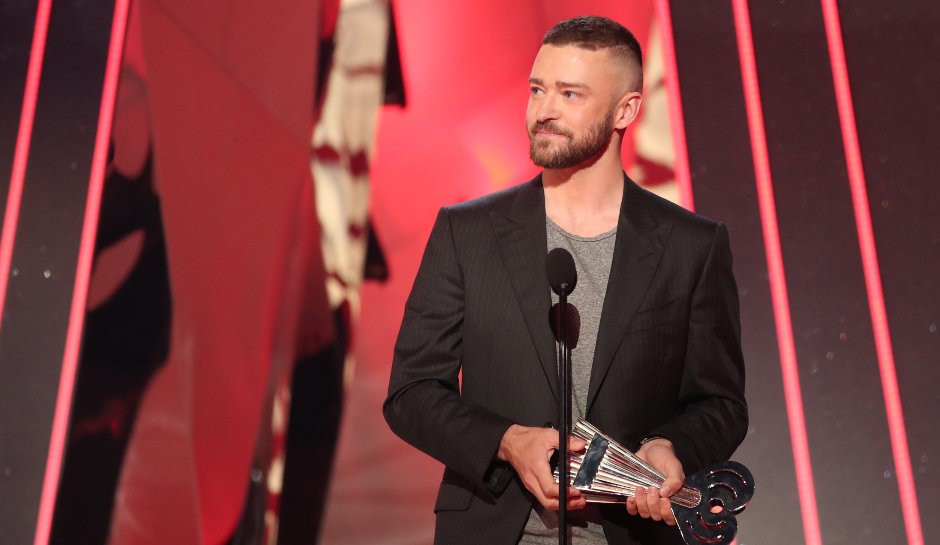 Justin Timberlake Gives Moving Speech At iHeart Radio Awards | iheart radio awards