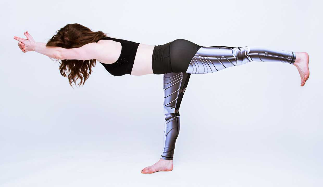Unleash Your Inner Warrior With Armor Leggings | leggings