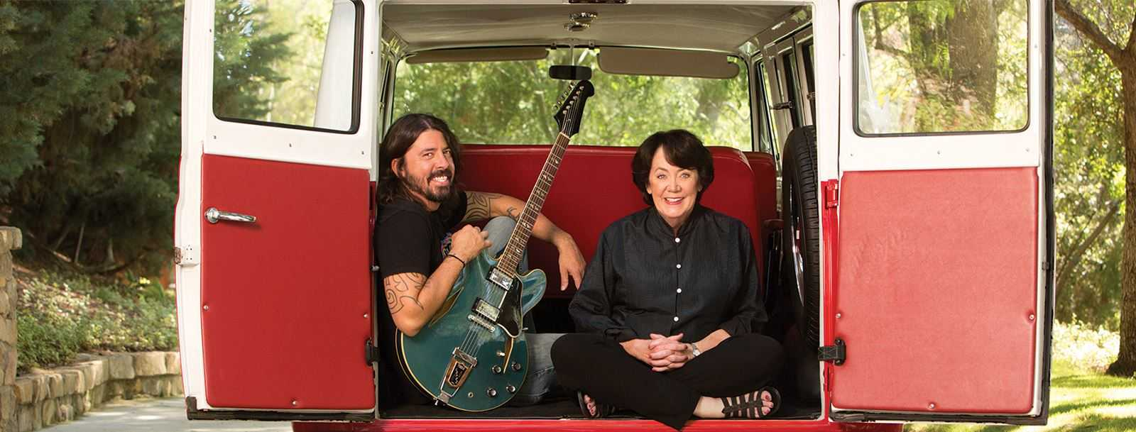 Dave Grohl's Mom Wrote A Book About Raising Rock Stars | Grohl's mom