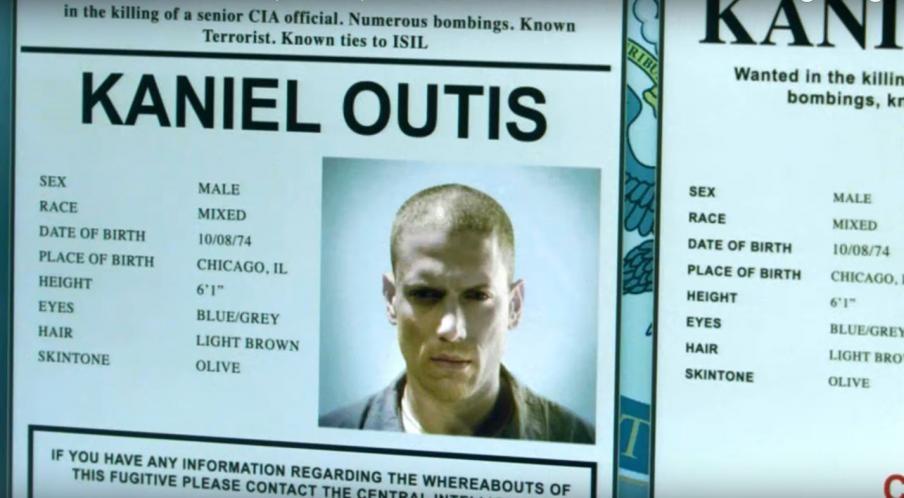 Prison Break: 05x02, Kaniel Outis | Kaniel Outis
