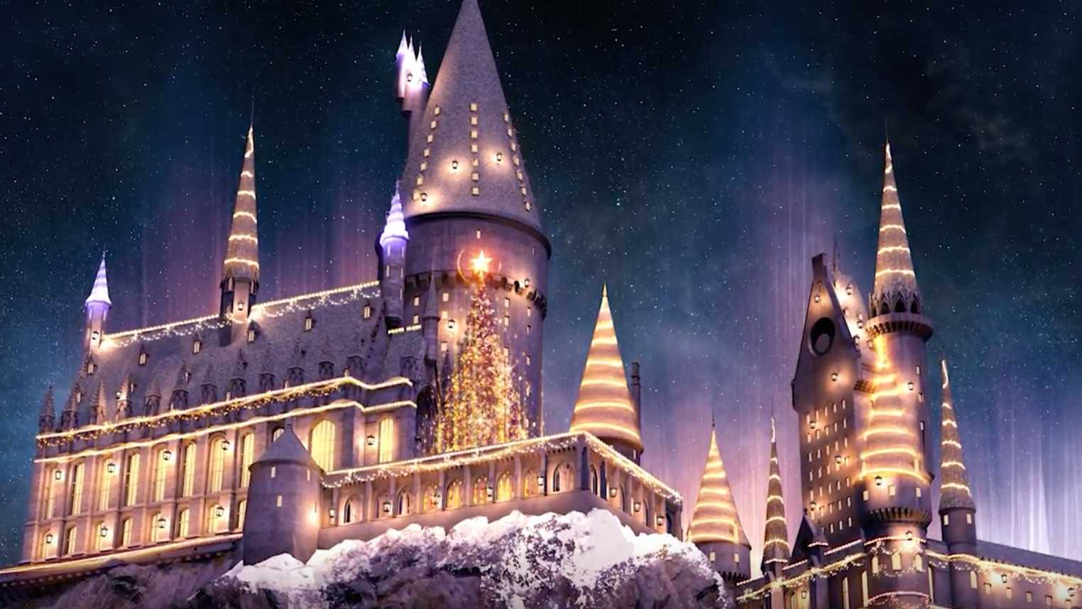 Christmas Is Coming To The Wizarding World Of Harry Potter | Christmas