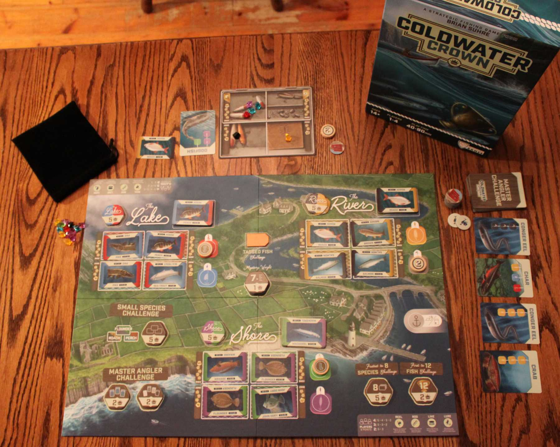 Coldwater Crown Is A Strategic Fishing Adventure | Coldwater Crown