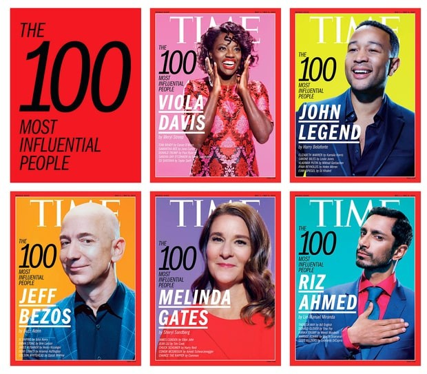TIME Announces 100 Most Influential People | Most Influential People