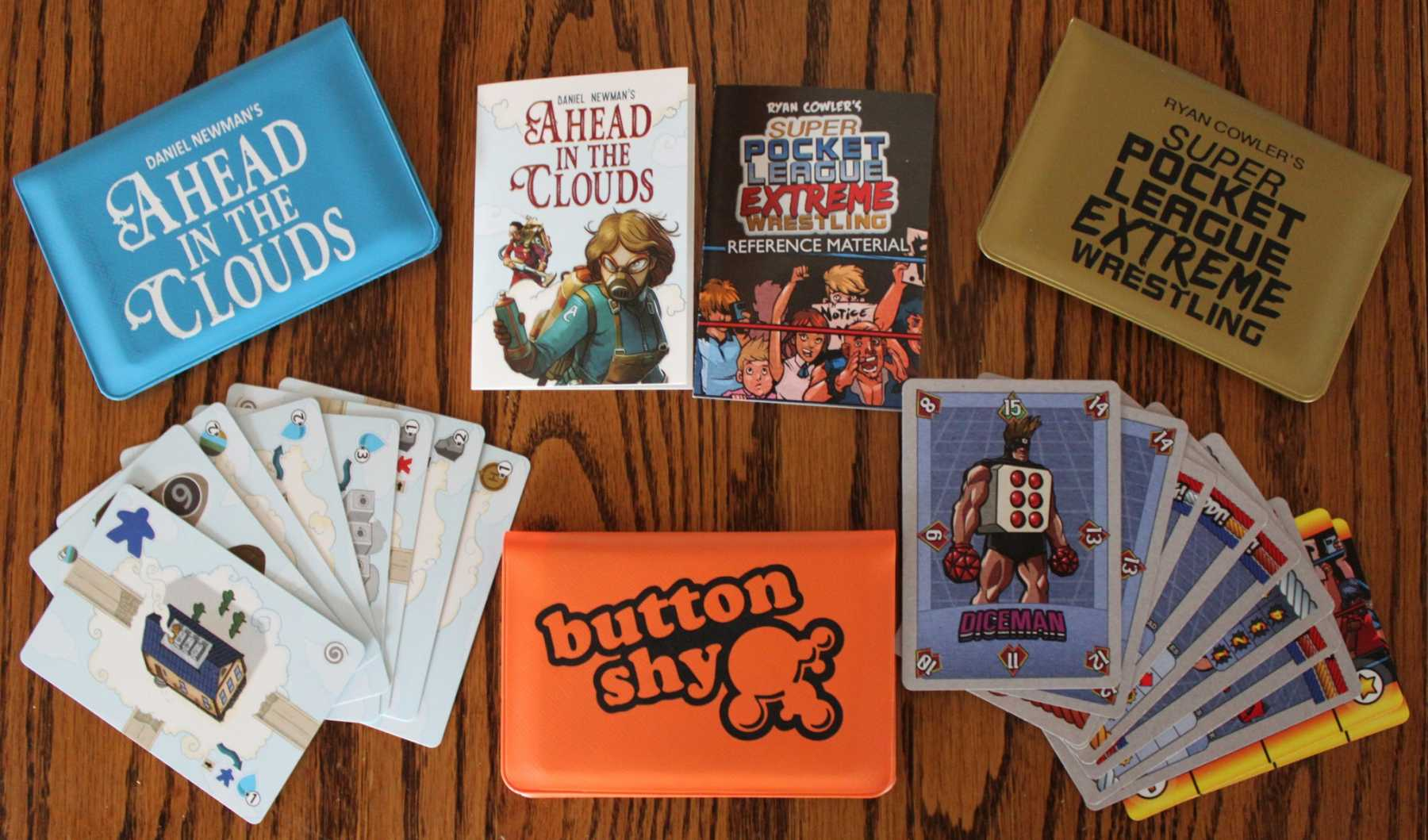 Play Games On The Go With Button Shy Games Wallet Series | Button Shy