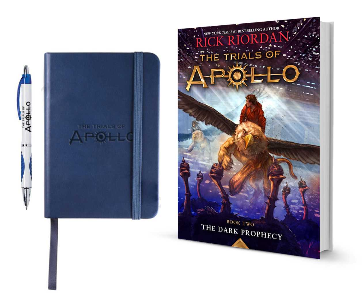 'The Trials of Apollo: The Dark Prophecy' Prize Pack From Disney-Hyperion  | The Trials Of Apollo