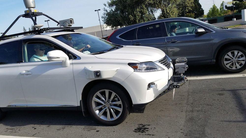 Apple's Self-Driving Car Hit The Road | Self-Driving Car