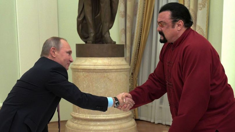 Steven Seagal Banned From Ukraine  | Seagal