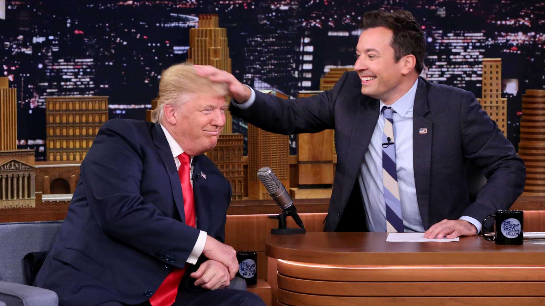 Jimmy Fallon Has Trump Interview Regrets | Jimmy Fallon