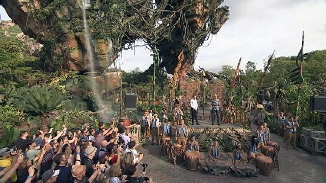 James Cameron And The Avatar Cast Dedicate Pandora At Disney World | Avatar Disney World