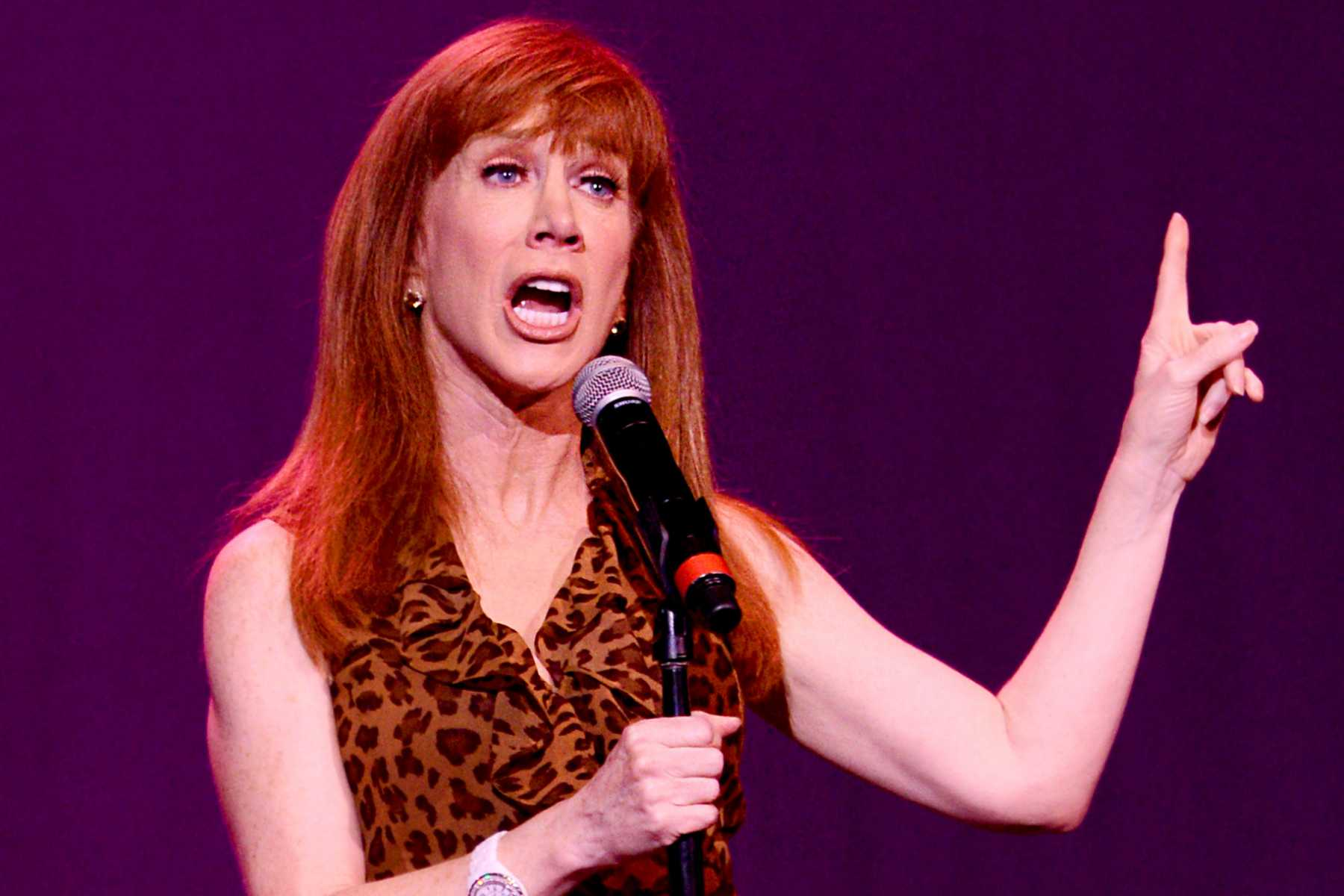 Kathy Griffin's The Reason Why Trump's President   President