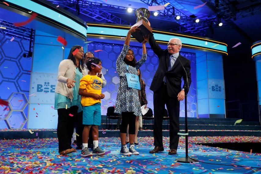 Scripps Spelling Bee Crowns A Winner | spelling bee