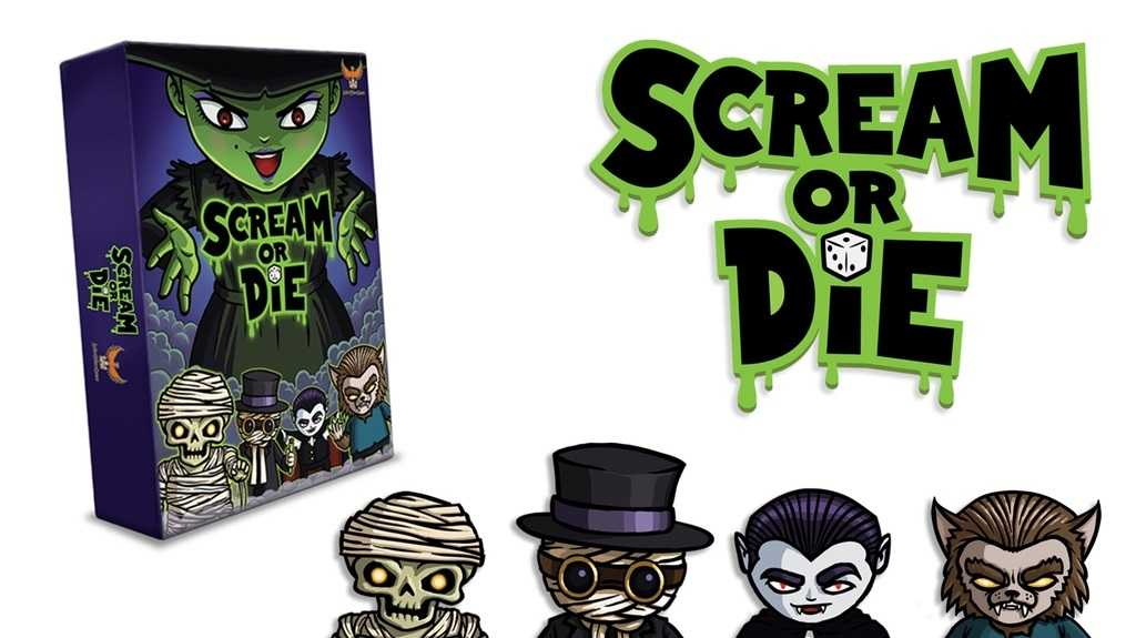 Scream Or Die Is Family Friendly Dice Game | Scream or Die