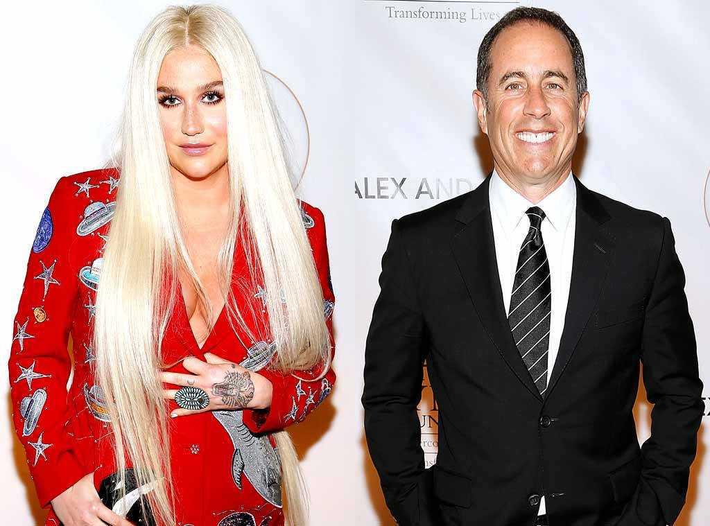 Jerry Seinfeld Denies Kesha's Hug Three Times | seinfeld