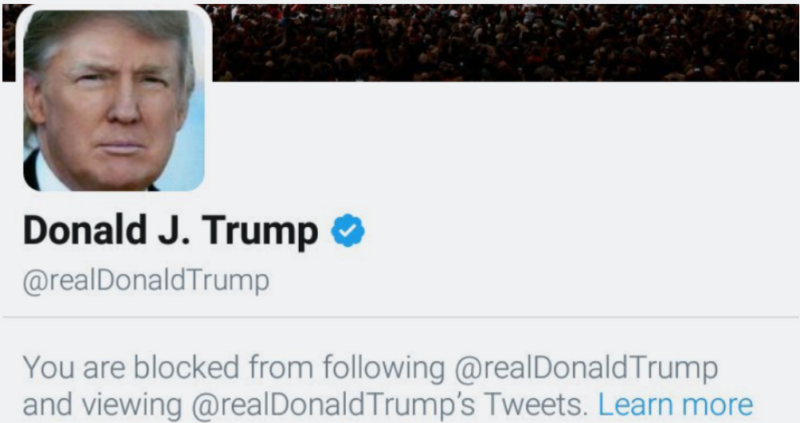 Twitter Users Blocked By Trump Fight Back | Trump