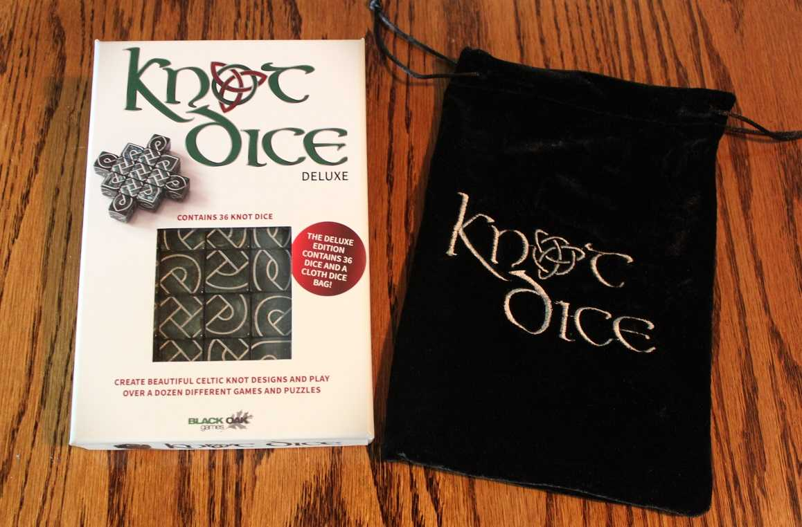 Black Oak Games' Knot Dice Review | Knot Dice