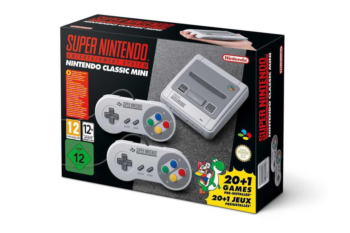 Nintendo To Release Super NES Classic Mini Console | Super NES Classic