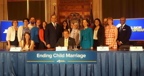 New York Legislature Bans Child Marriage | marriage