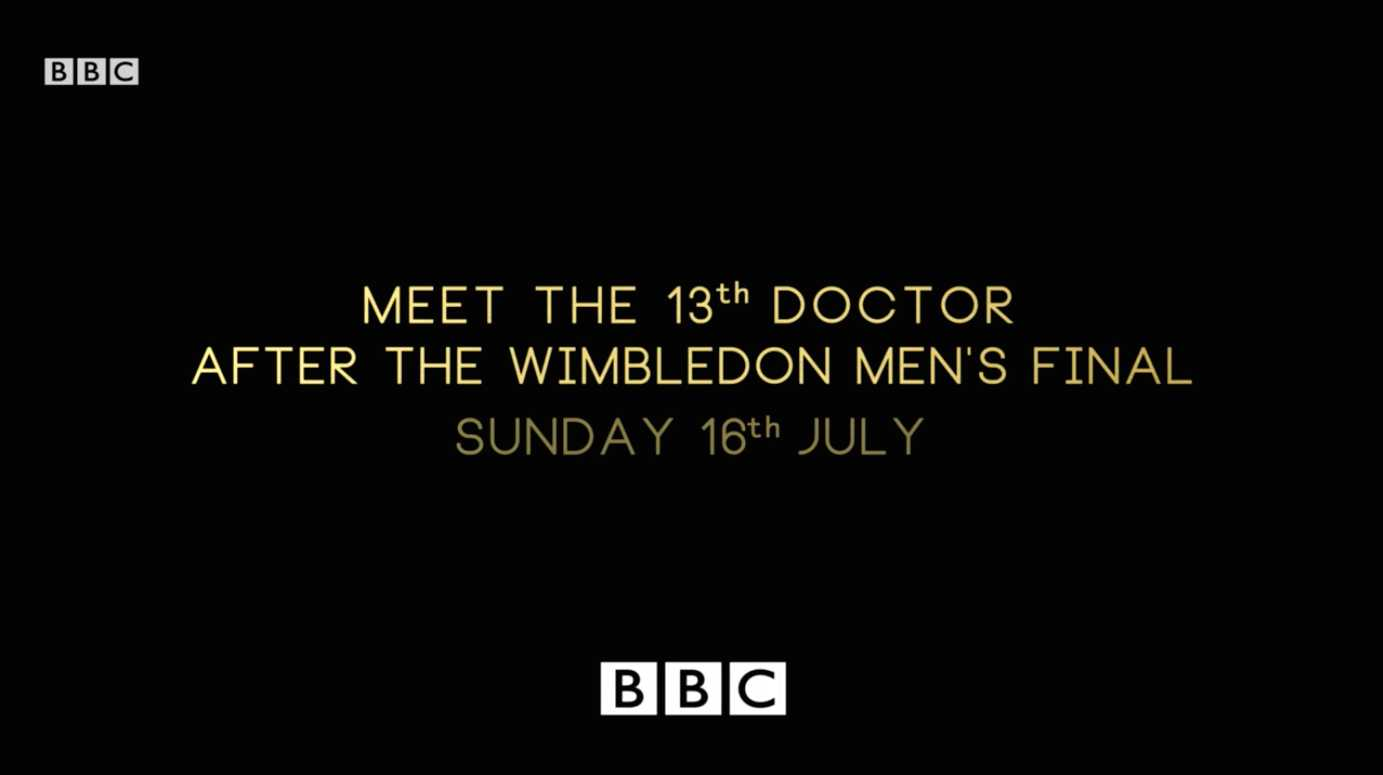 Doctor Who's 13th Doctor Announcement Coming On Sunday | 13th Doctor