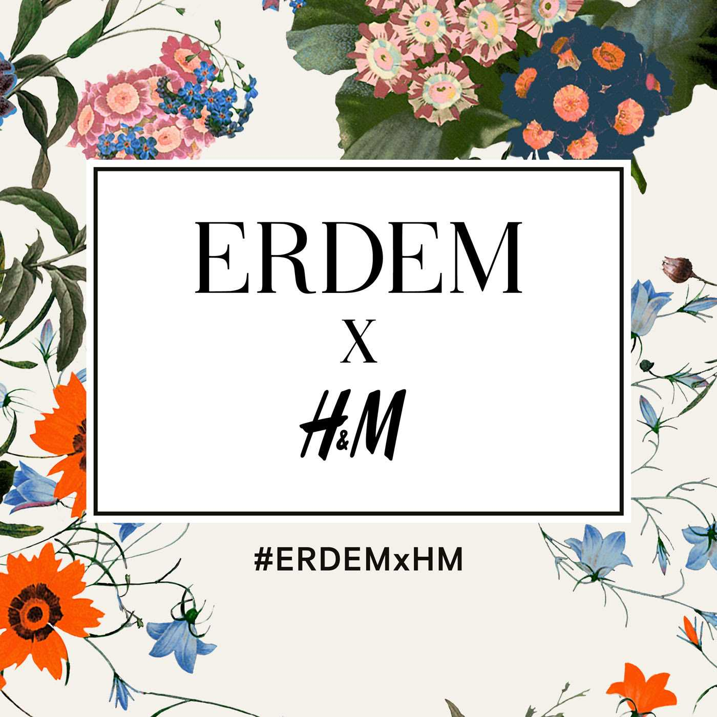 H&M Reveals Its Next Designer Collaboration: ERDEMxH&M | H&M