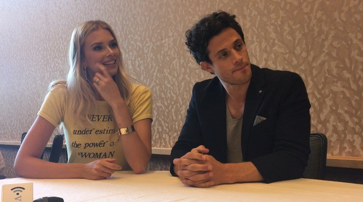 Emma Ishta And Kyle Harris Talk #Camsten At SDCC | Emma Ishta and Kyle Harris