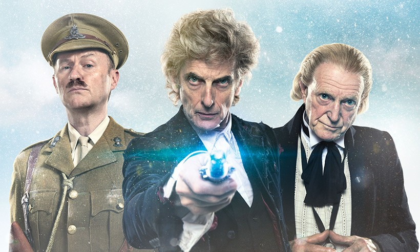 Peter Capaldi Tribute And Doctor Who Christmas Special Trailer Unveiled At SDCC   Peter Capaldi