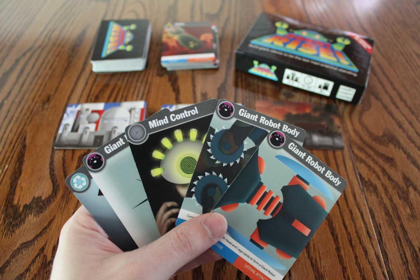 ROBOT RISE! Kickstarter Game Review | ROBOT RISE