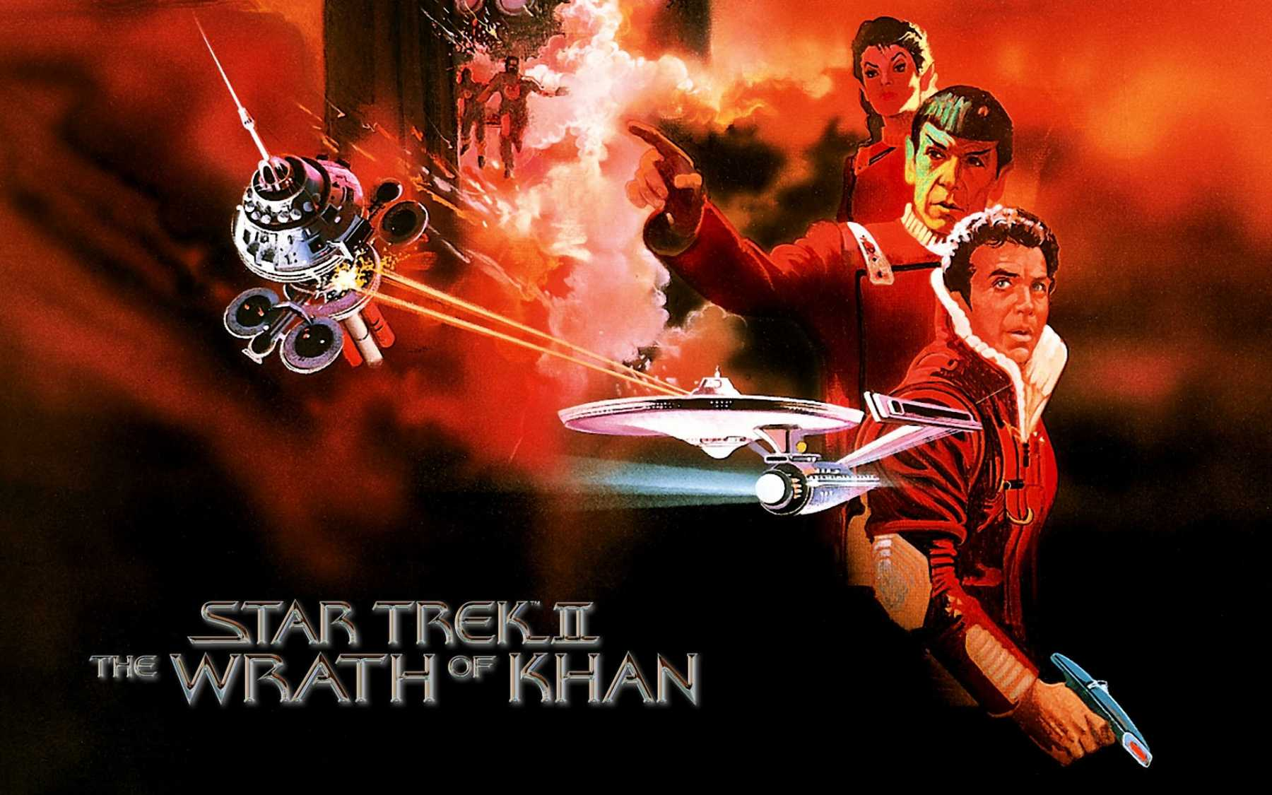 'Star Trek II: The Wrath Of Khan' Director's Cut Returning To Theaters For 35th Anniversary | The Wrath Of Khan