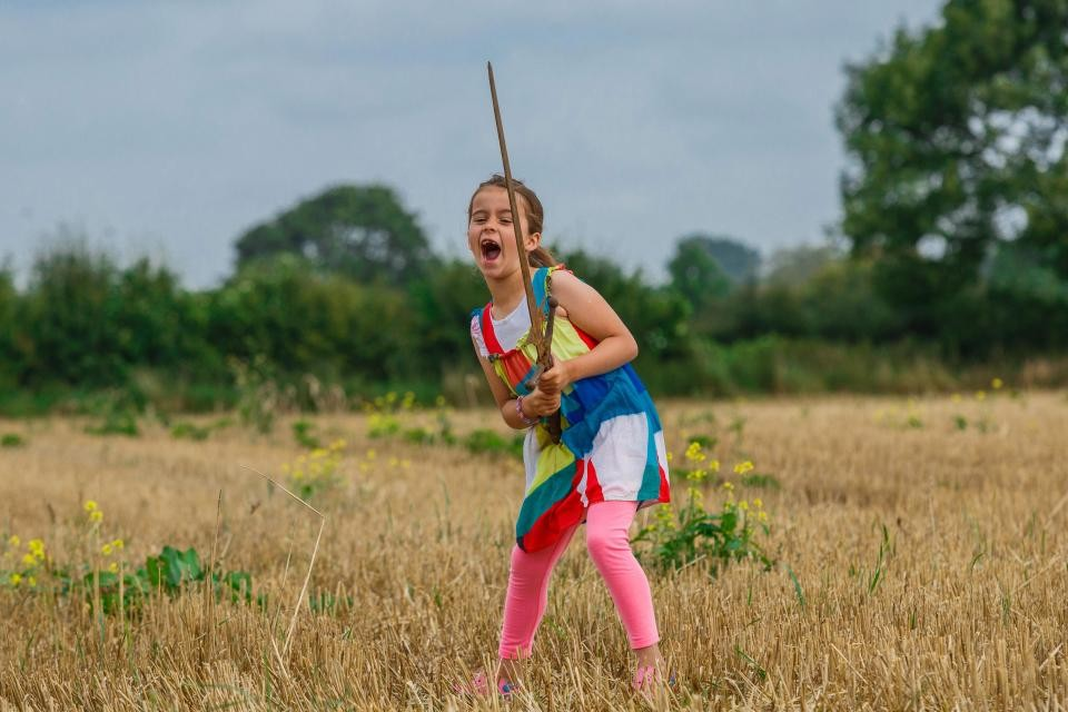 Young Girl Finds Sword Where Excalibur Was Thrown | excalibur