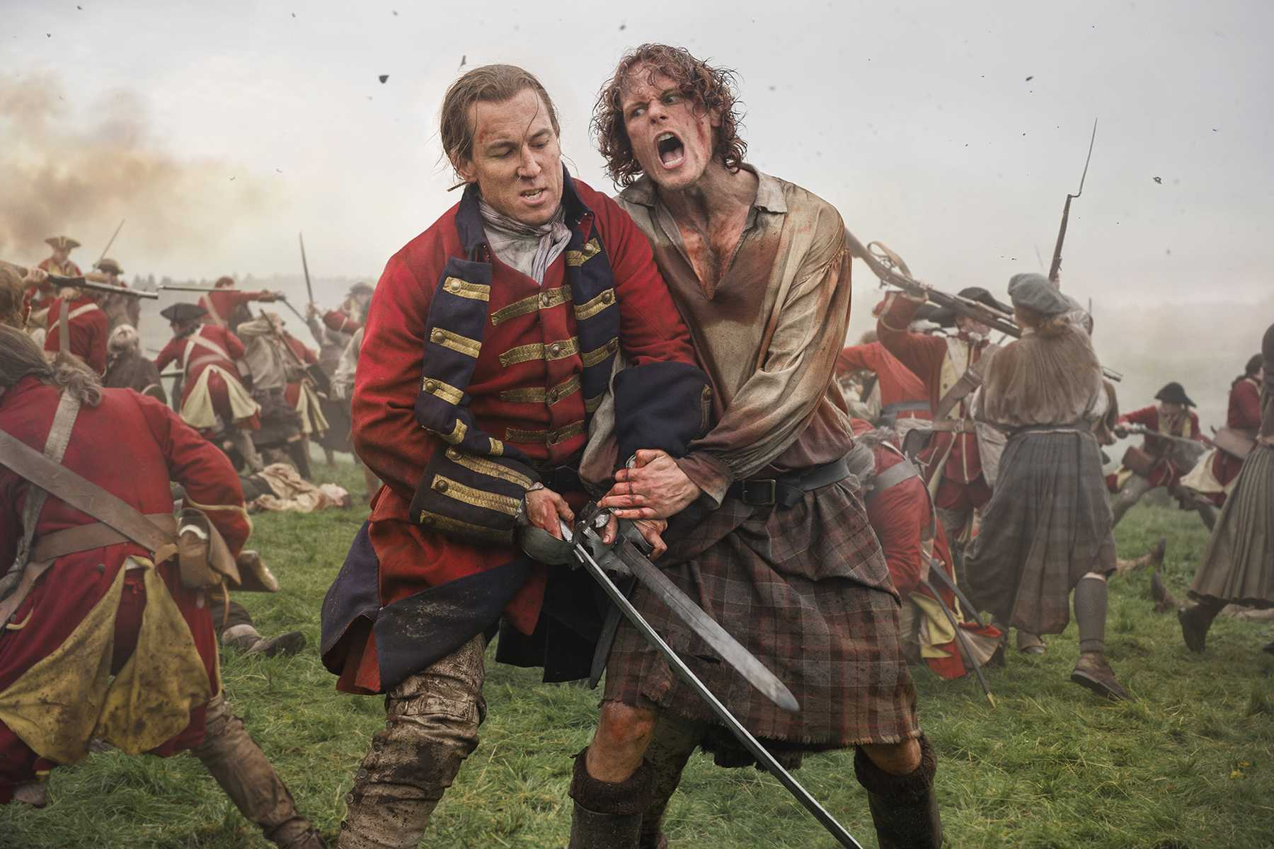 Outlander: 03x01, The Battle Joined | Battle Joined