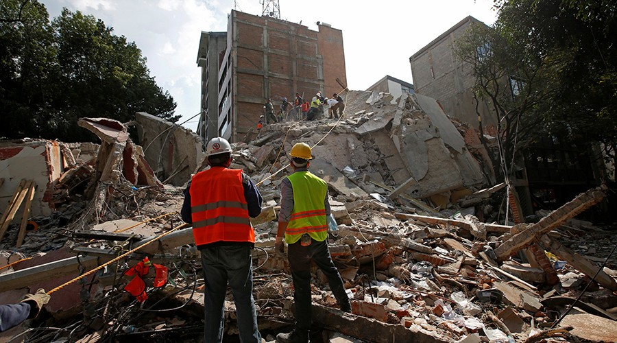 Mexico City Earthquake Leaves Over 200 Dead | Mexico City Earthquake