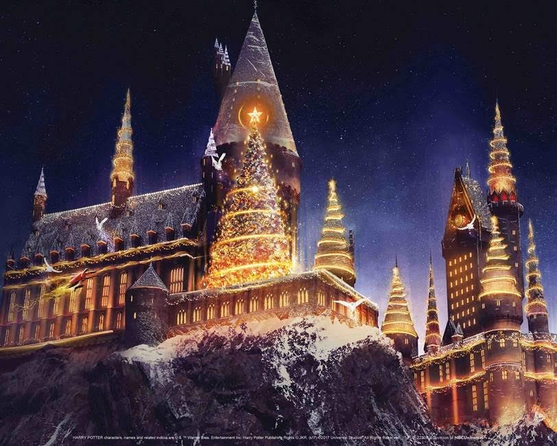 Christmas Is Coming To The Wizarding World Of Harry Potter!  | Wizarding World Christmas