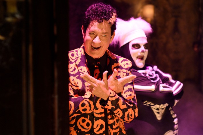 Tom Hanks & David S. Pumpkins Are Getting Animated | Tom Hanks