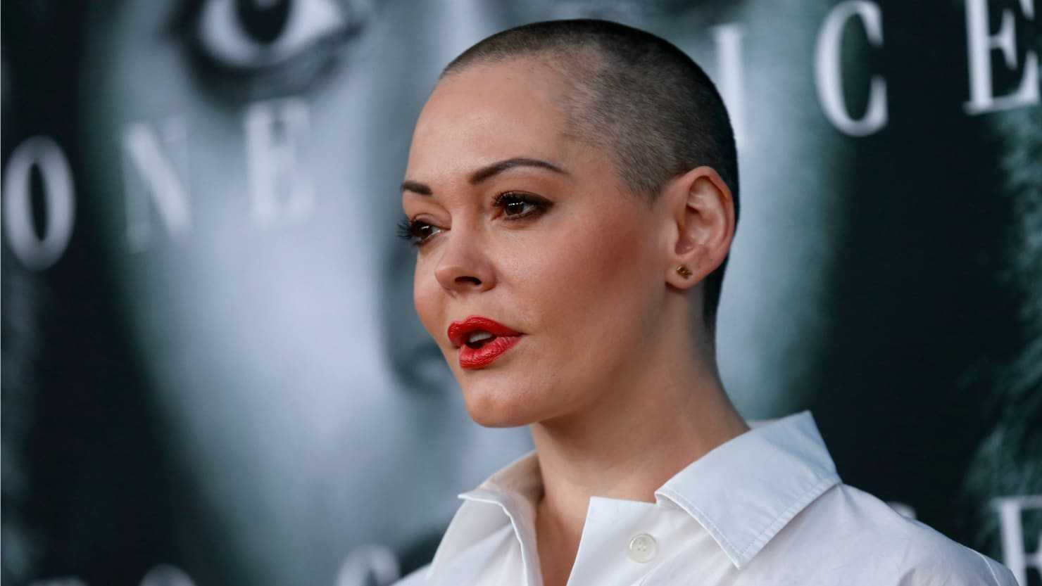 Rose McGowan's Twitter Was Temporarily Suspended | Rose McGowan