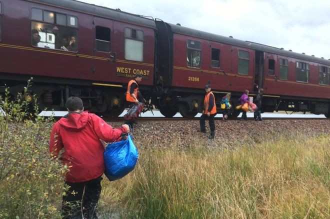 Hogwarts Express Rescues Family Stranded In The Scottish Highlands | Hogwarts Express