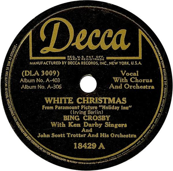 Bing Crosby - White Christmas (Original 78)