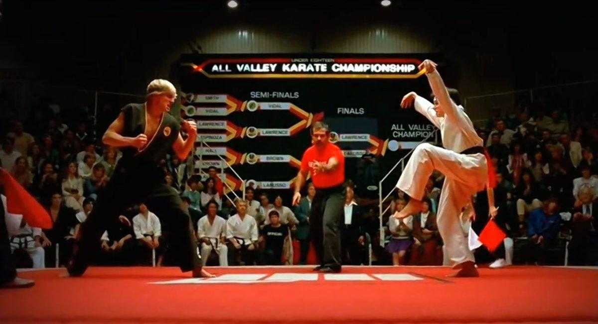 Ralph Macchio And William Zabka Reunite On The Set Of Karate Kid Sequel | karate kid