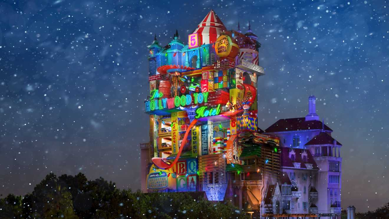 Tower of Terror To Become Hollywood TOY Hotel At Disney's Hollywood Studios | Tower Of Terror