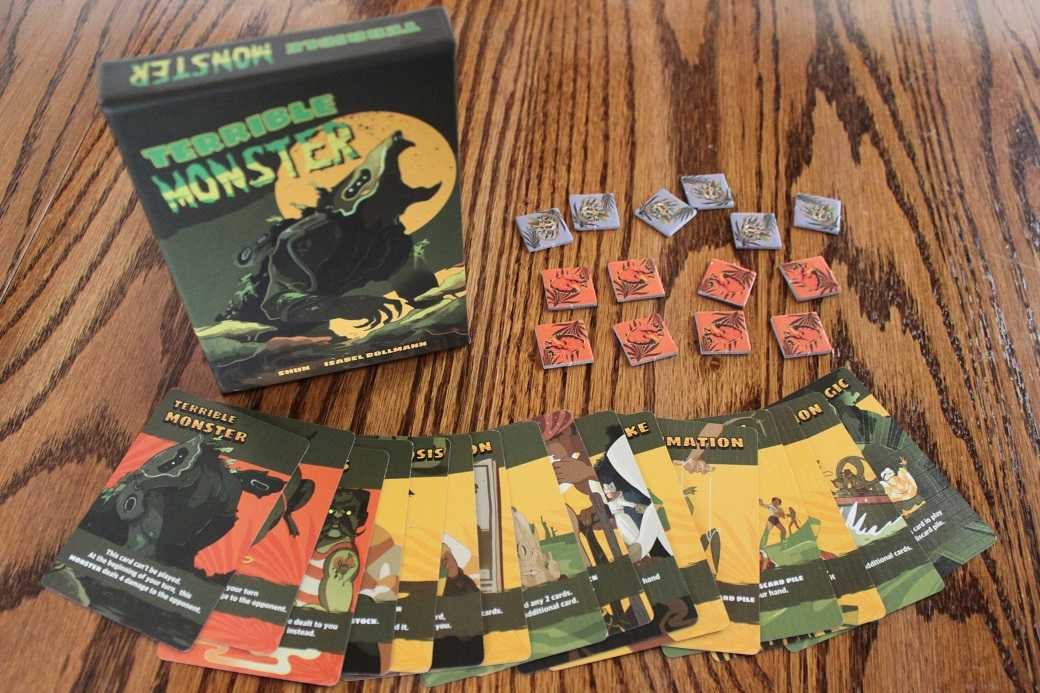 PopWrapped Presents: Terrible Monster Board Game Review | Terrible Monster