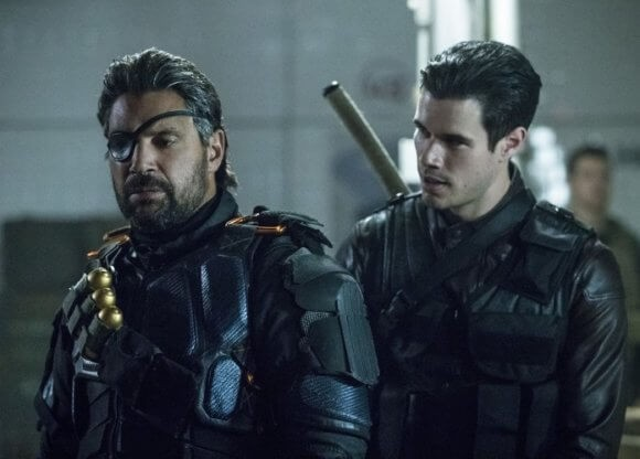 Arrow 6x06 Slade and Joe