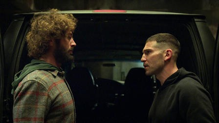 The Punisher Frank Castle and Micro