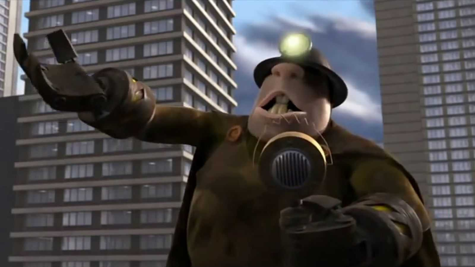 The Mole Man from The Incredibles