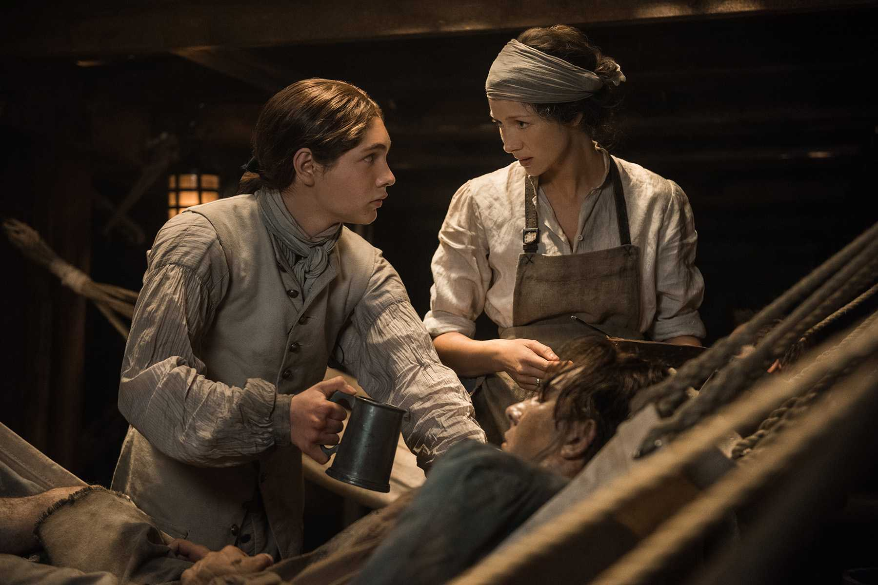 The Sense Behind Sensibilities In Outlander 03x10, Heaven And Earth  | Outlander Voyager Heaven Earth