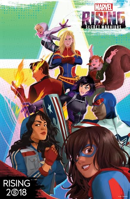 Marvel Announces New Animation Franchise 'Marvel Rising' | Marvel Rising