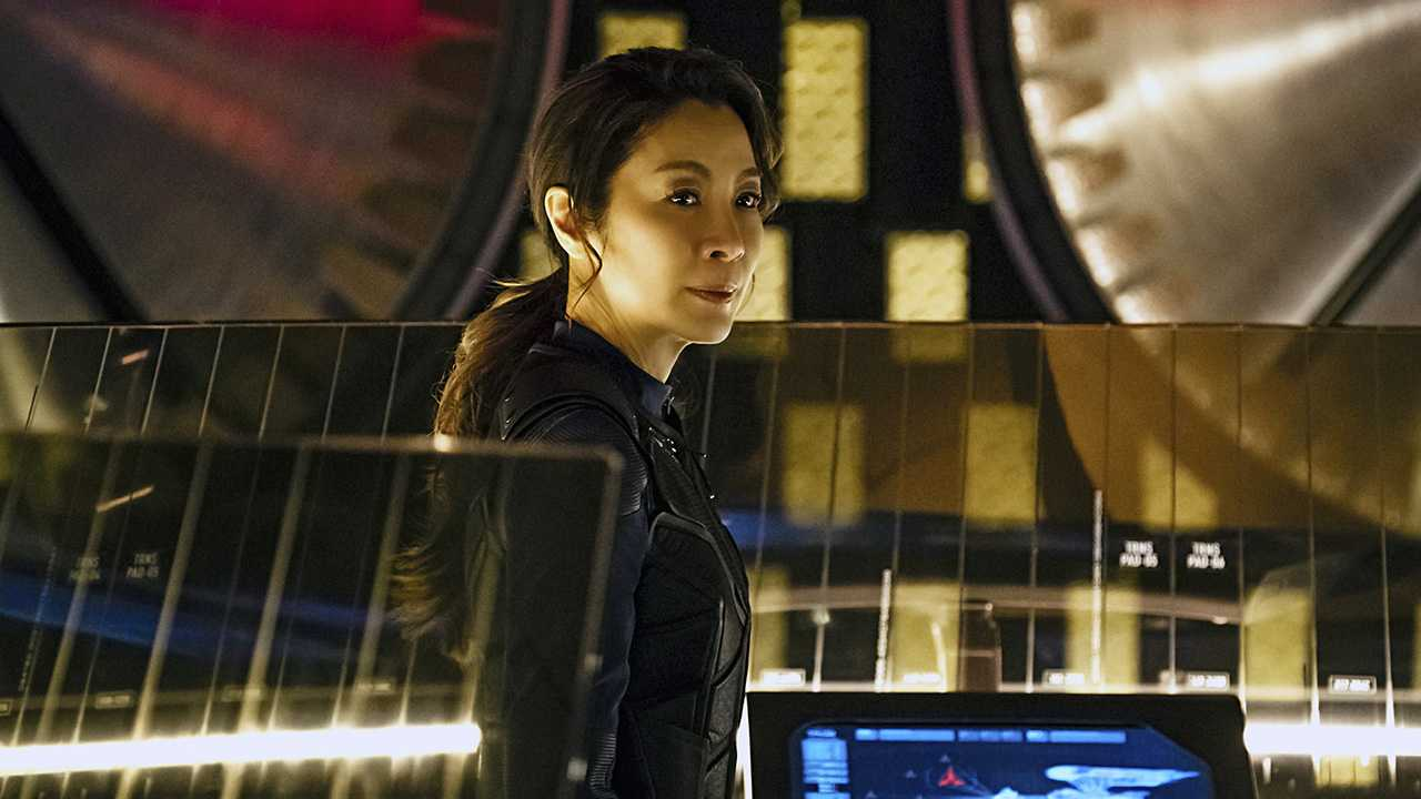 Georgiou on Star Trek: Discovery