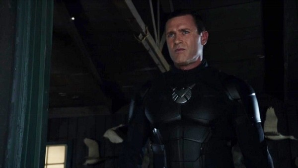 Mace as the hero Patriot on Agents Of SHIELD