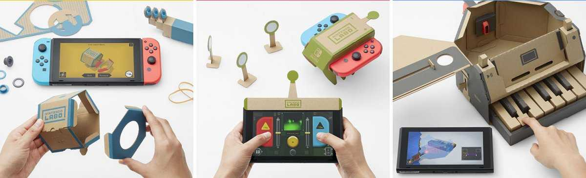 Nintendo Launching Functioning Cardboard Games For The Switch | Nintendo