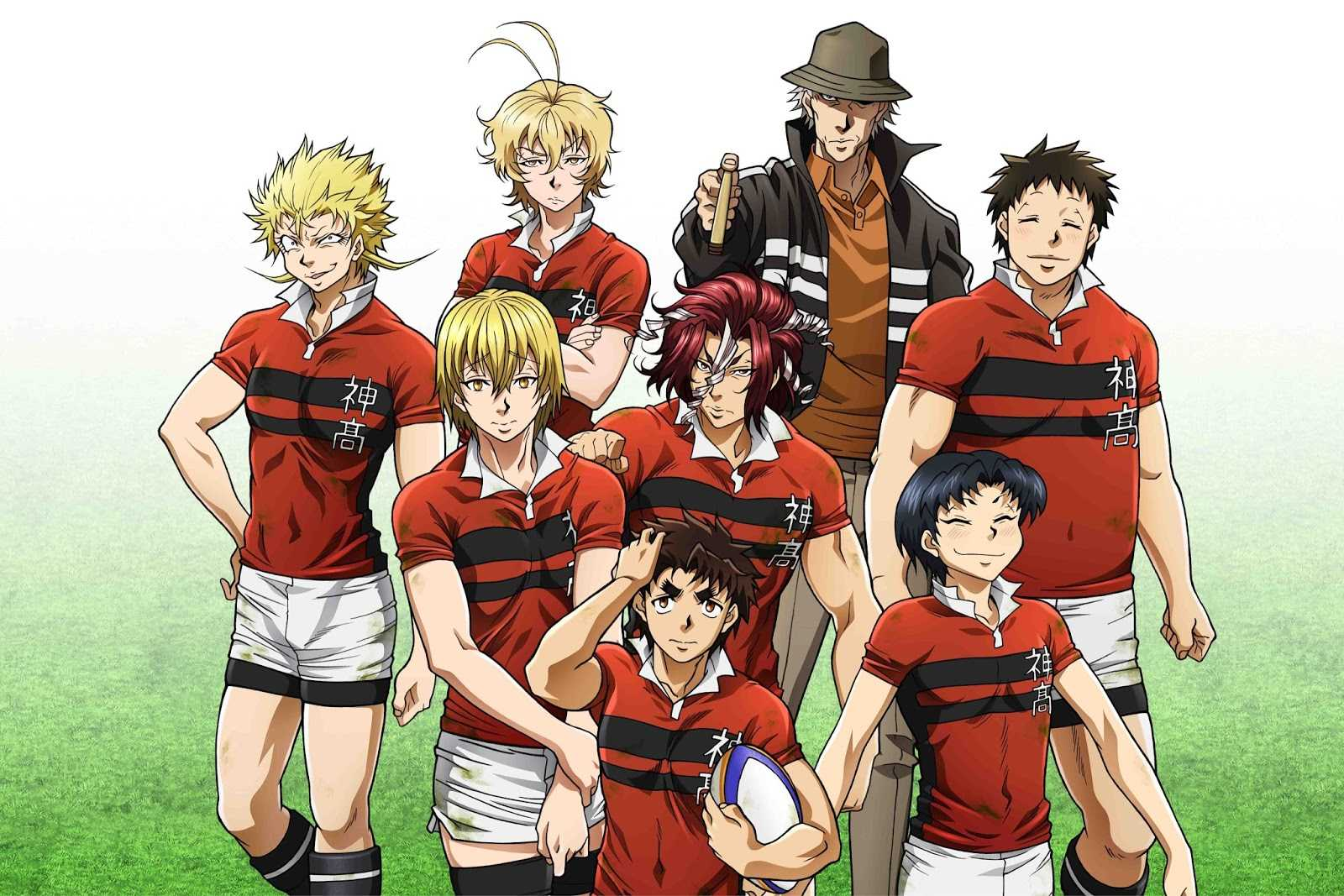 All Out!! Mixes Rugby And Anime Into One Strangely Entertaining Series | All Out Anime