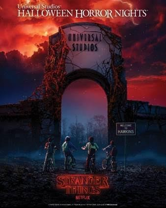 Stranger Things Comes To Universal Studios' Halloween Horror Nights | Stranger Things Universal Studios' Halloween Horror Nights